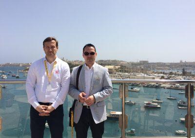 Kolegovia vo Vallete